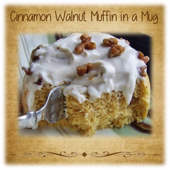 Cinnamon Walnut Muffin in a Mug (S) - A Home with Purpose!
