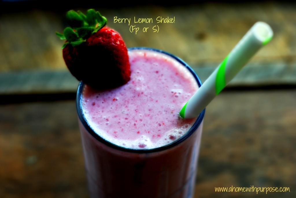 Berry Lemon Shake