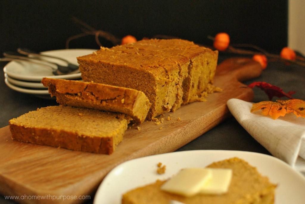 sugar-free pumpkin poundcake