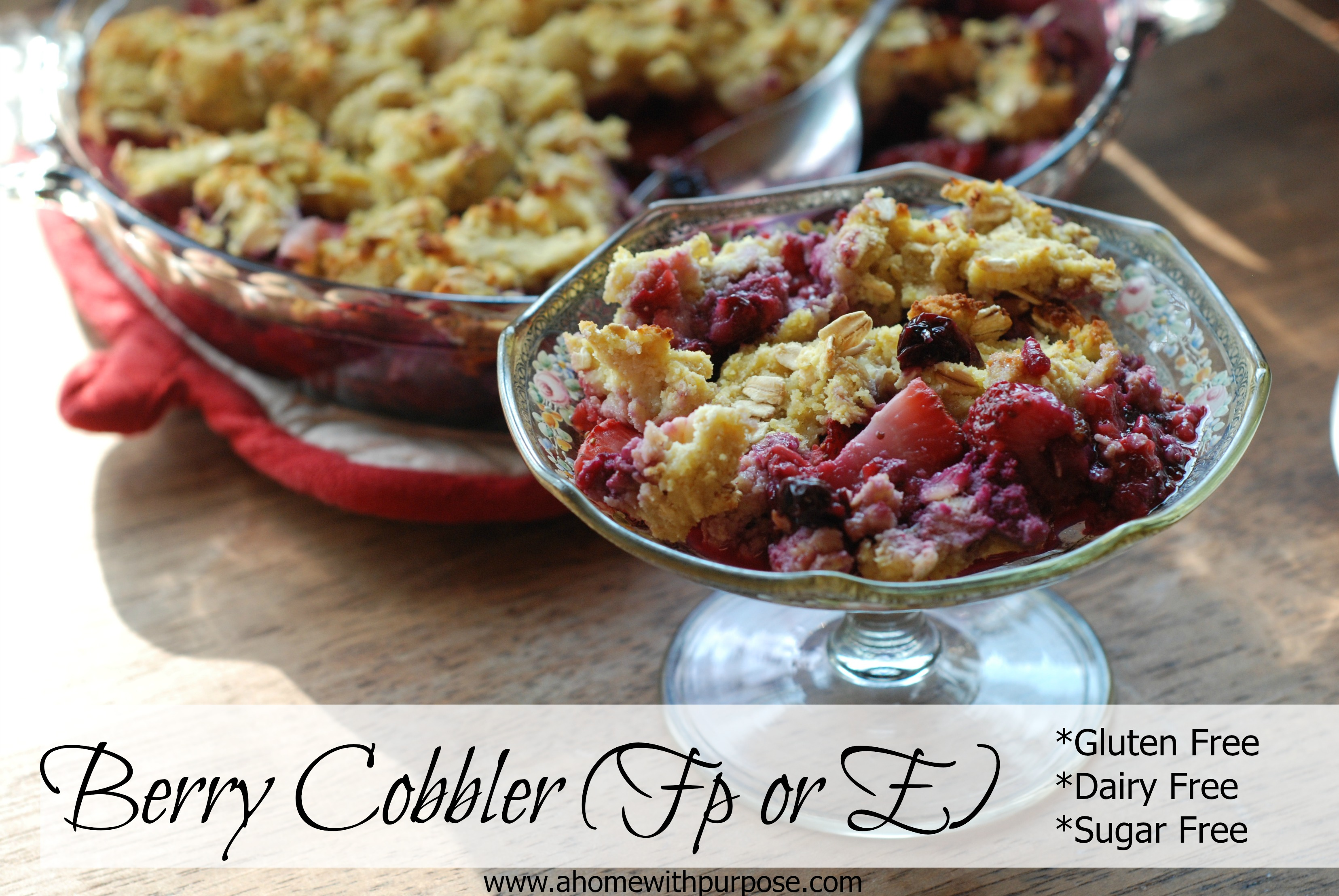 Basic Berry Cobbler Recipe — Dishmaps
