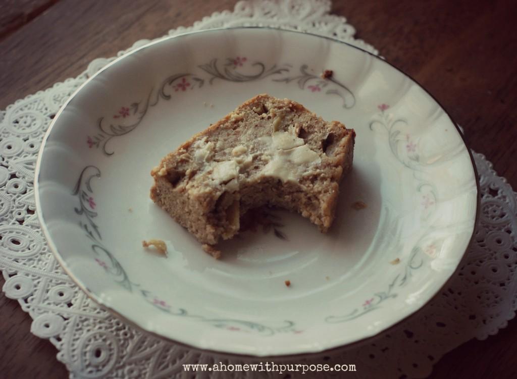 Oat Flour Pound Cake
